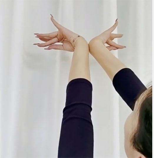 社区舞蹈手部练习 —《小五花》转动